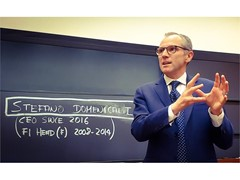 Stefano Domenicali spricht an der Harvard Business School im Rahmen des General Management Executive Education Program