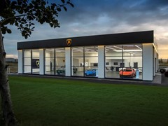 Automobili Lamborghini expands UK dealer network with official opening of new Leeds showroom, as sales continue to grow