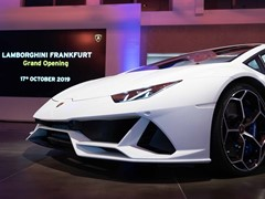 Automobili Lamborghini officially opens Germany's  largest showroom in Frankfurt