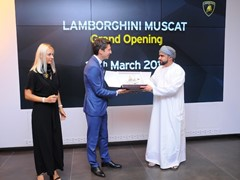 Lamborghini Muscat inaugurates new showroom and launches the new Huracán EVO Spyder in Oman