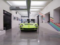 "Lamborghini brings Italian virtuosity to Art Basel Miami Beach with  ""A Dreamscape of Italian Design"" - Miura Installation at Wolfsonian Museum"