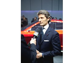 Stephan Winkelmann, President and CEO of Lamborghini and the New Lamborghini Urus