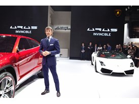 Mr.Stephan Winkelmann, President & CEO of Lamborghini at 2012 Beijing International Auto Show
