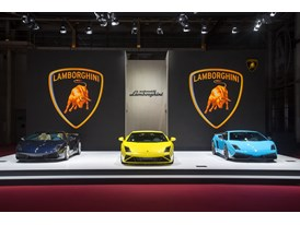 Lamborghini at 2012 Paris Motorshow