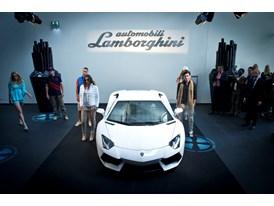 Collezione Automobili Lamborghini Fashion Show in Leusden, NL.