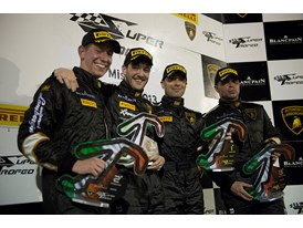 LBSTF Andrea Solimè and Andrea Palma take the inaugural night race win at Misano
