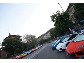 Grande Giro Lamborghini 50° - Milano Parc Fermè - 7 May