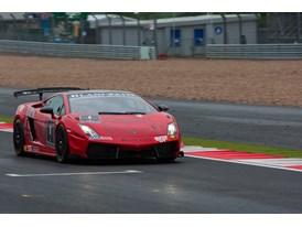 Adrian Newey pilots the #1 VIP car at Silverstone, June 2012