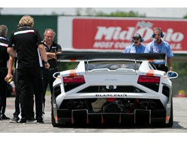 Lamborghini Blancpain Super Trofeo on track at Mid-Ohio