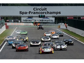 LBSTF race one, Spa Francorchamps