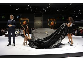 Lamborghini Press Conference at 2013 Frankfurt Motor Show