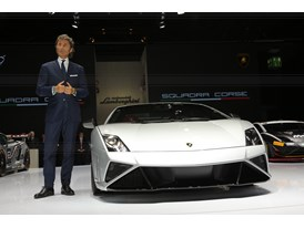 Lamborghini Press Conference at 2013 Frankfurt Motor Show 2
