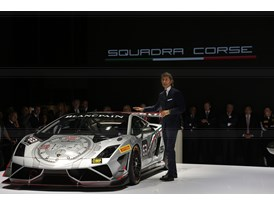 Lamborghini Press Conference at 2013 Frankfurt Motor Show 3