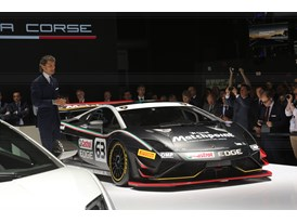 Lamborghini Press Conference at 2013 Frankfurt Motor Show 4