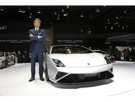 Lamborghini Press Conference at 2013 Frankfurt Motor Show 5