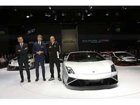 Lamborghini Press Conference at 2013 Frankfurt Motor Show 7