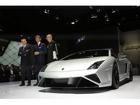 Lamborghini Press Conference at 2013 Frankfurt Motor Show 8