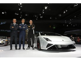 Lamborghini Press Conference at 2013 Frankfurt Motor Show 9