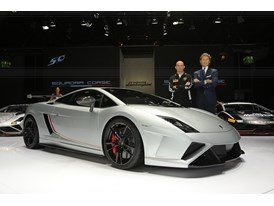 Lamborghini Press Conference at 2013 Frankfurt Motor Show 10
