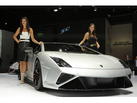 Lamborghini Press Conference at 2013 Frankfurt Motor Show 11