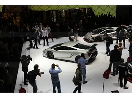 Lamborghini Press Conference at 2013 Frankfurt Motor Show 12