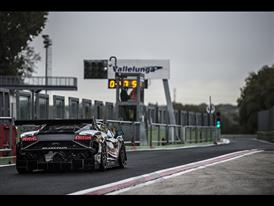 A dry track was a rare commodity in Vallelunga