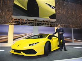 S. Winkelmann and the new Huracán LP 610-4