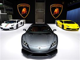 Lamborghini Press Conference at the Auto China 2014 in Beijing