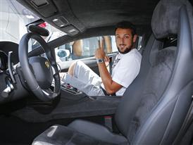Marco Belinelli - Lamborghini Aventador