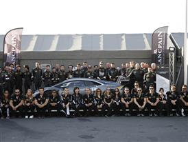LBST Europe Drivers & Squadra Corse Team with the new Huracan LP 620-2 Super Trofeo