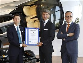Ettore Favia, Stephan Winkelmann, and Luciano De Oto