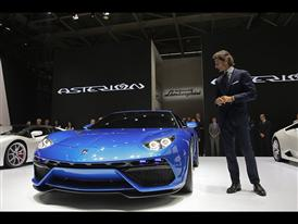 New Lamborghini Asterion LPI 910-4 at the 2014 Paris Mondial de L'Automobile 9