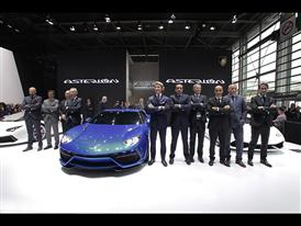 New Lamborghini Asterion LPI 910-4 at the 2014 Paris Mondial de L'Automobile 27