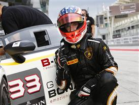 Letzte Pole Position im Lamborghini Blancpain Super TrofeoEuropa 2014 geht an Mirko Bortolotti (Bonaldi Motorsport)