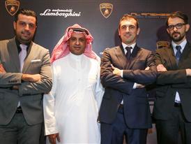 Dubai opening of the first exclusive Collezione Automobili Lamborghini fashion outlet