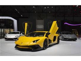 New Lamborghini Aventador LP 750-4 Superveloce at the 2015 Geneva Motor Show