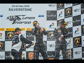 Champagne-Podium Overall Race 2