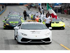 The Lamborghini Blancpain Super Trofeo North America series