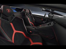 Lamborghini Aventador SV Roadster Interior Seat