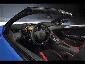 Lamborghini Aventador SV Roadster Interior Cockpit