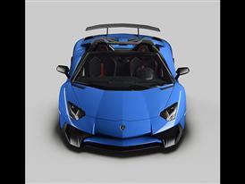 Lamborghini Aventador SV Roadster Front Open