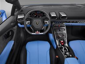 New Lamborghini Huracán LP 610-4 Spyder Interior Driver