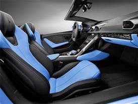 New Lamborghini Huracán LP 610-4 Spyder Interior