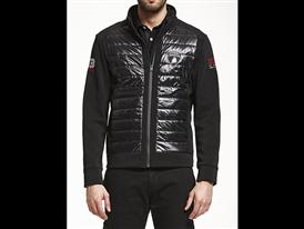 Men's padded power stretch jacket