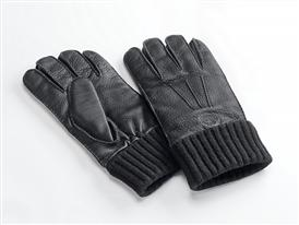 Men's classic cuffed deerskin glove