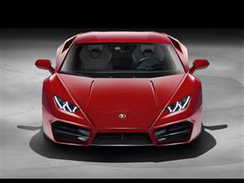 Huracán LP 580-2 - Front Red-HD