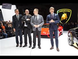 Lamborghini Press Conference at the 2016 Geneva Motor Show
