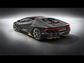 Lamborghini Centenario 3-4 Rear