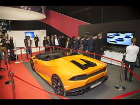 The Lamborghini Stand at JEC Composite
