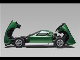 Lamborghini Miura – Profile open